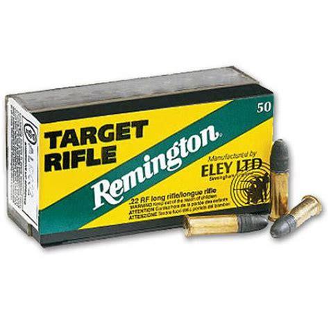 Remington Eley Target Rifle Ammo