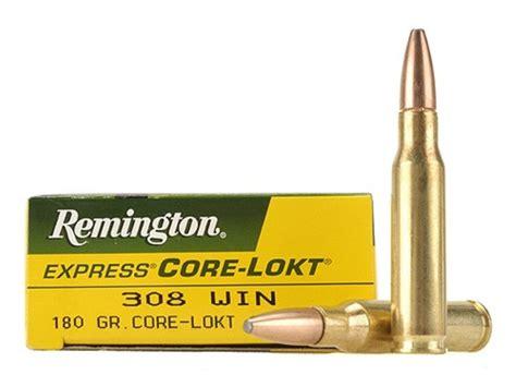 Remington Express Ammo 308 Winchester 180 Grain Corelokt