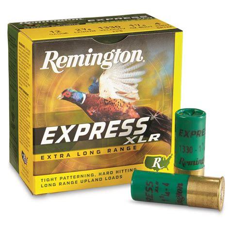Remington Express Long Range 12 Gauge Shotgun Shells