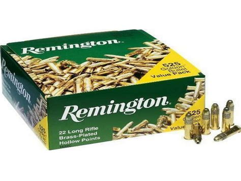Remington Golden Bullet Ammunition 22 Long Rifle Hp