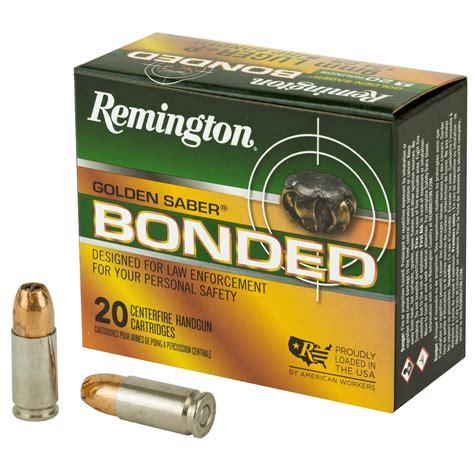 Remington Golden Saber 9mm Bonded
