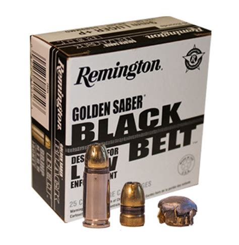 Remington Golden Saber Black Belt Ammo Review