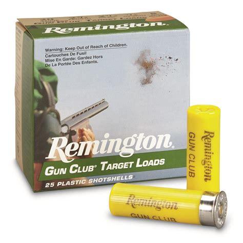 Remington Gun Club Target 20 Gauge Ammo 2 3 4 7 8oz 8 Shot