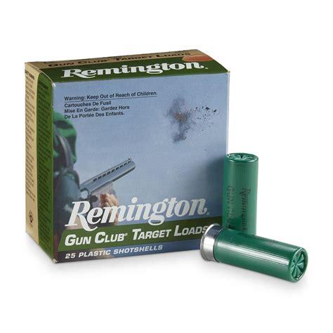 Remington Gun Club Target Loads 12 Gauge 2 3 4 Shells