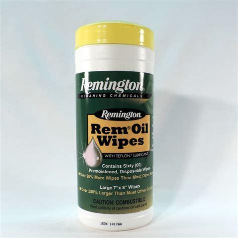 Remington Gun Oil Wipes Ebay