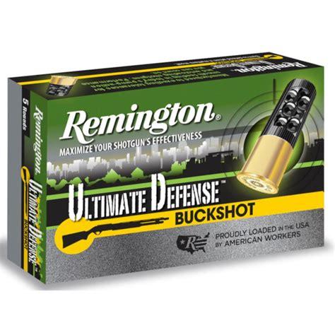 Remington Home Defense 12 Gauge Ammo Review