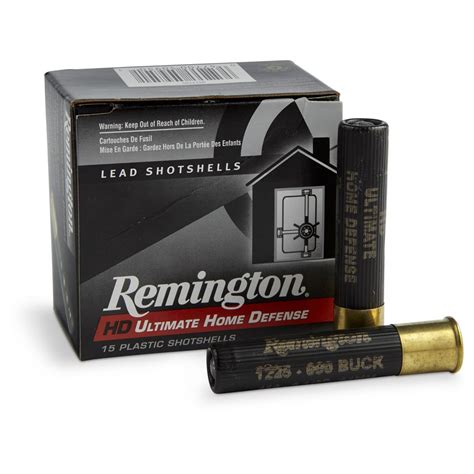 Remington Home Defense Shotgun Ammo Review