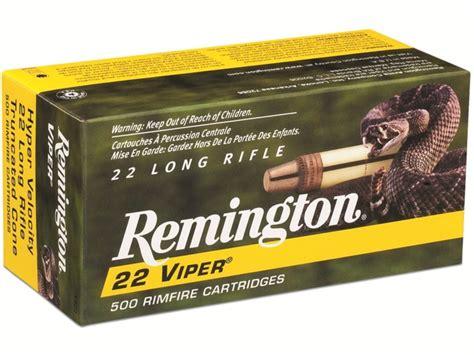 Remington Hyper Velocity 22 Long Rifle 36 Grain