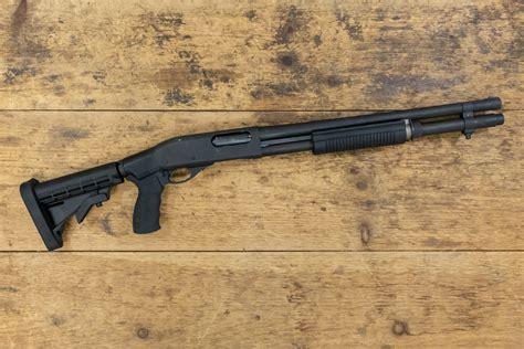 Remington Law 870 Chrome Shotgun With Pistol Grip