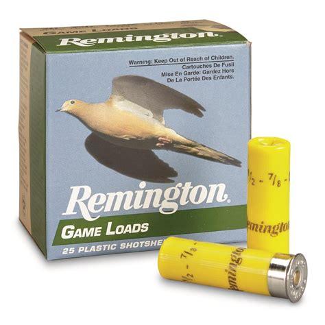 Remington Lead Game Ammo 20 Gauge 2 3 4