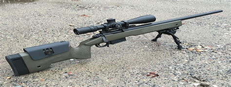 Remington M40a5 Sniper Rifle
