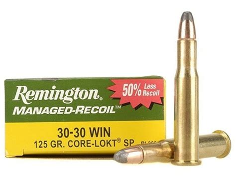 Remington Managed Recoil 30 30 Ammo For Sale