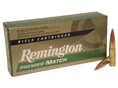 Remington Match 300 AAC Blackout Ammo 125 Grain Open Tip Match