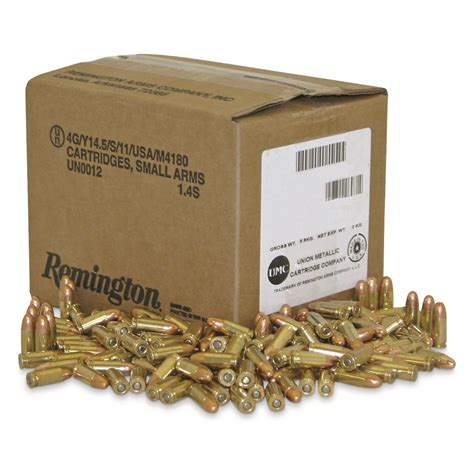 Remington Military Law Enforcement Training Ammo 9mm