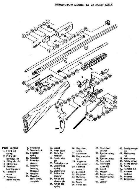 Remington Model 12 Schematic