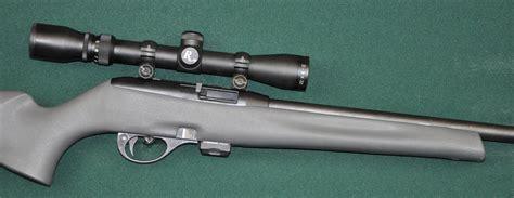 Remington Model 597 Semi Auto Rifle W Scope