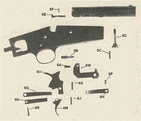 Remington Model 6 22 Rifle Parts