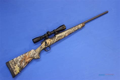 Remington Model 700 Rifle 243 Win Scoped Camo