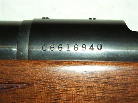 Remington Model 700 Rifle Serial Numbers
