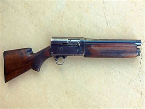Remington Model 77 Hump Back Shotgun