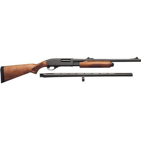 Remington Model 870 Express Pumpaction Shotgun Combo With Slug Barrel