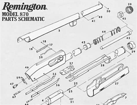 Remington Model 870 Shotgun Parts