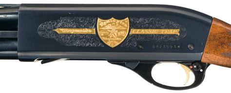 Remington Model 870 Wingmaster Classic Trap Shotgun