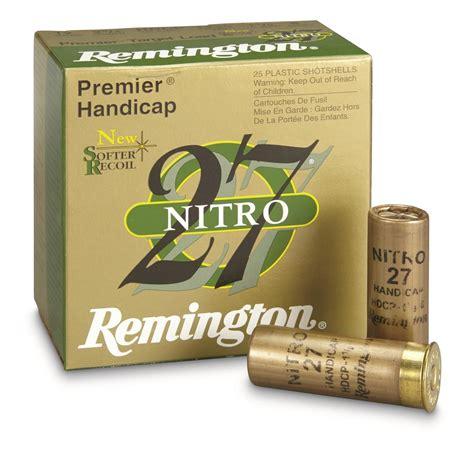 Remington Nitro 12 Gauge Shotgun Shells