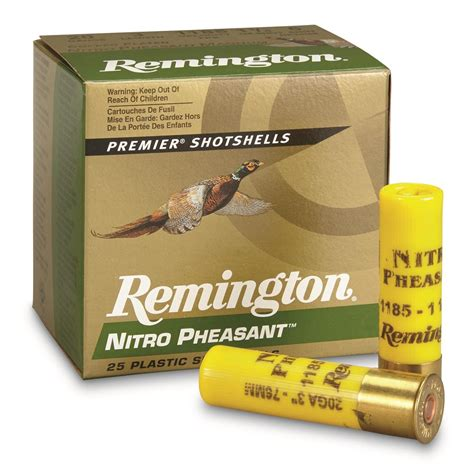 Remington Nitro Pheasant Ammo 20 Gauge 3