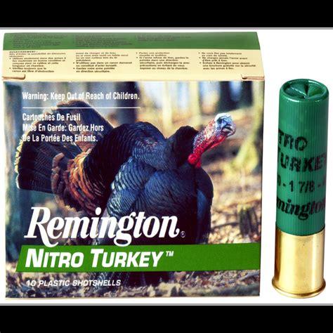 Remington Nitro Turkey Extended Range Magnum Shotshells