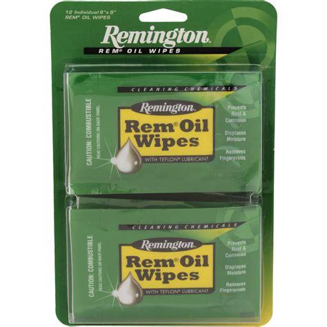 Remington Oil Wipes Rem Oil Wipes 12pak