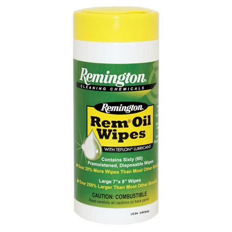 Remington Oil Wipes Rem Oil Wipes 60pak