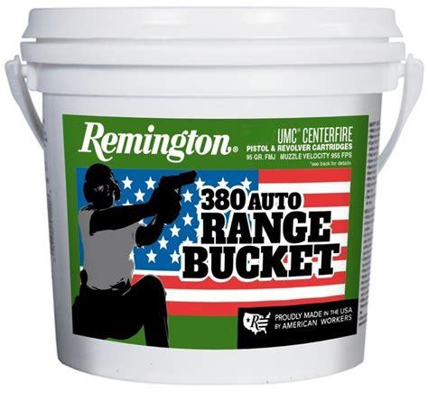 Remington Range Bucket 380 Ammo