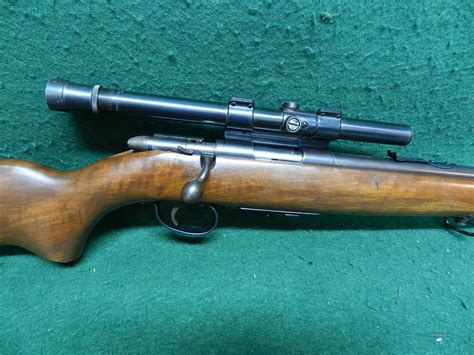 Remington Scoremaster Model 511 22 Rifle And Rifle Calibre 22 Remington