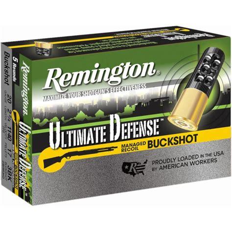 Remington Shotgun Defense Ammo