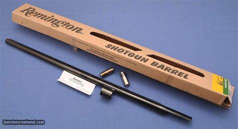 Remington Shotgun Interchangeable Barrels