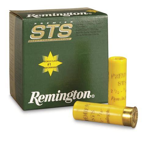 Remington Sts 20 Gauge Shotgun Shells