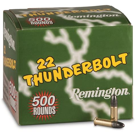 Remington Thunderbolt 22 Long Rifle