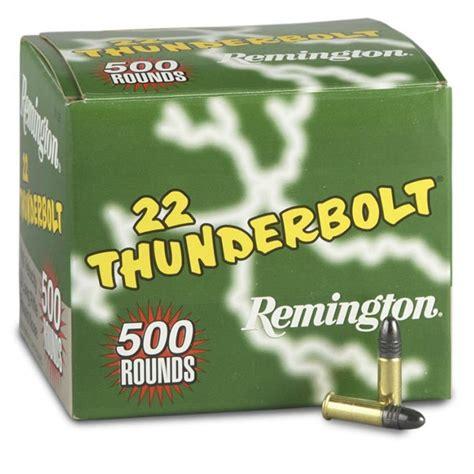 Remington Thunderbolt 22 Long Rifle Ammo