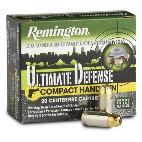 Remington Ultimate Defense 380 Ammo Review