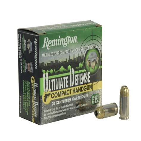 Remington Ultimate Defense Compact Handgun Ammo Reviews