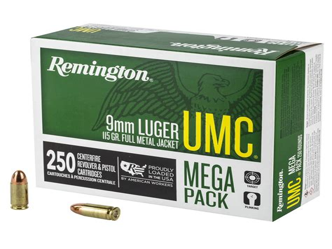 Remington Umc 115gr 9mm Ammo Test