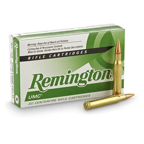 Remington Umc 223 Remington 55gr Fmj Rifle Ammo Ballistics