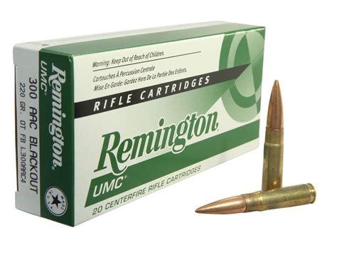 Remington Umc 300 Blackout 220 Ballistics