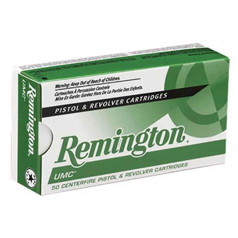 Remington UMC 38 Super Auto P 130gr FMJ Handgun Ammo - 50