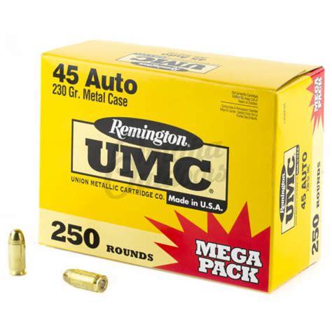 Remington Umc 45 Acp Mega Pack Ammo Review