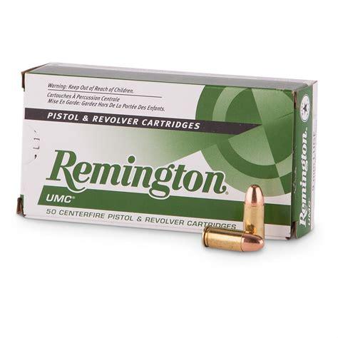Remington UMC 9mm 115 Grain FMJ Ammo - L9MM3