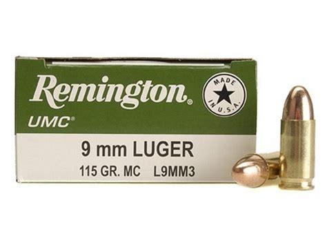 Remington UMC Ammo 9mm Luger 115 Grain - Midwayusa Com