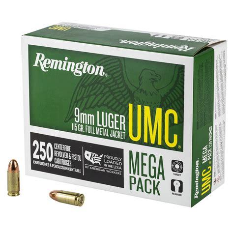Remington Umc Handgun 250round Ammo Mega Pack Review