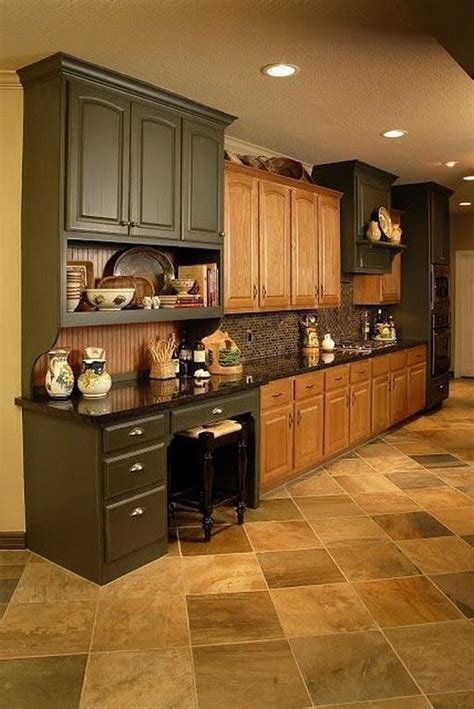 Remodeled Kitchens With Oak Cabinets Image